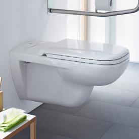 Duravit D-Code Wand-Tiefspül-WC Vital weiß, mit HygieneGlaze