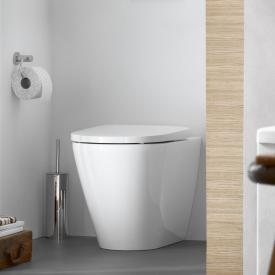Duravit D-Neo Stand-Tiefspül-WC, rimless, back to wall weiß, mit HygieneGlaze