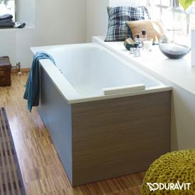 Duravit Darling New Rechteck-Badewanne, Einbauversion oder Wannenverkleidung, mit Rückenschräge rechts