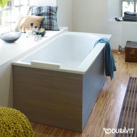 Duravit Darling New Rechteck-Badewanne, Einbauversion oder Wannenverkleidung, mit Rückenschräge links