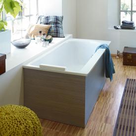 Duravit Darling New Rechteck-Badewanne mit Rückenschräge links