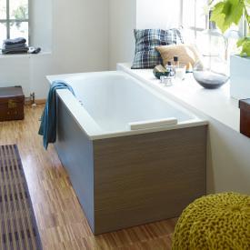 Duravit Darling New Rechteck-Badewanne mit Rückenschräge rechts