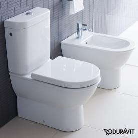 Duravit Darling New Stand-Tiefspül-WC Kombination weiß mit WonderGliss