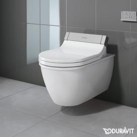 Duravit Darling New Wand-Tiefspül-WC für SensoWash®, verlängerte Ausführung weiß mit WonderGliss