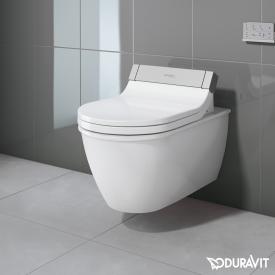 Duravit Darling New Wand-Tiefspül-WC mit SensoWash® Starck e WC-Sitz, Set weiß