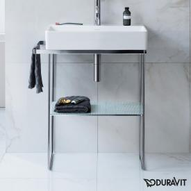 Duravit DuraSquare Metallkonsole bodenstehend für Waschtische chrom