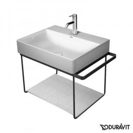 Duravit DuraSquare Metallkonsole wandhängend für Waschtische schwarz matt