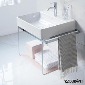 Duravit DuraSquare Metallkonsole wandhängend für Waschtische Compact chrom