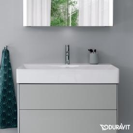 Duravit DuraSquare Waschtisch weiß, mit WonderGliss, mit 1 Hahnloch, geschliffen