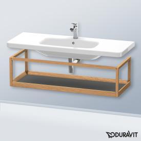 Duravit DuraStyle Möbel-Accessoire Ablage Korpus europäische eiche / Ablage graphit matt