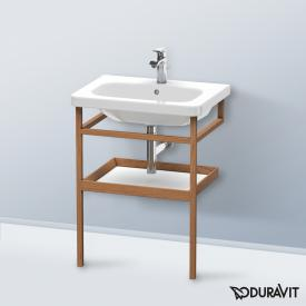 Duravit DuraStyle Möbel-Accessoire Handtuchhalter mit Ablage Korpus amerikanischer nussbaum / Ablage weiß matt