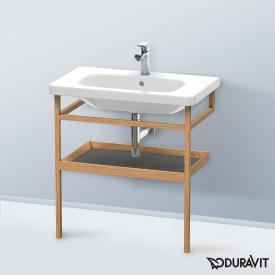 Duravit DuraStyle Möbel-Accessoire Handtuchhalter mit Ablage Korpus europäische eiche / Ablage graphit matt