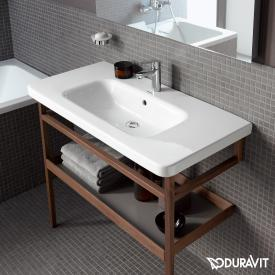 Duravit DuraStyle Möbelwaschtisch weiß, mit WonderGliss, mit 1 Hahnloch, mit Überlauf