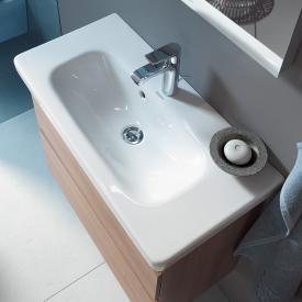 Duravit DuraStyle Möbelwaschtisch Compact weiß, mit WonderGliss, mit 1 Hahnloch
