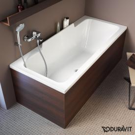 Duravit DuraStyle Rechteck-Badewanne mit Rückenschräge rechts