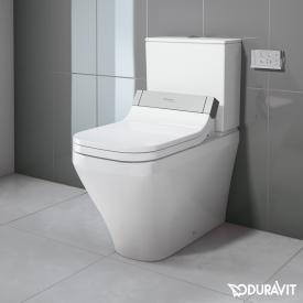Duravit DuraStyle Stand-Tiefspül-WC Kombination mit SensoWash® Starck e WC-Sitz, Set weiß, Spülkasten mit Anschluss rechts oder links