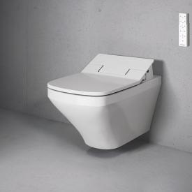 Duravit DuraStyle Wand-Tiefspül-WC für SensoWash®, verlängerte Ausführung ohne Spülrand, weiß mit WonderGliss