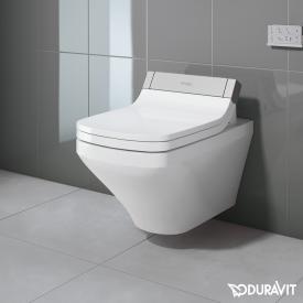 Duravit DuraStyle Wand-Tiefspül-WC mit SensoWash® Starck e WC-Sitz, Set weiß mit WonderGliss