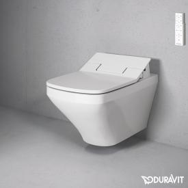 Duravit DuraStyle Wand-Tiefspül-WC Rimless mit SensoWash® Slim WC-Sitz, Set weiß mit WonderGliss
