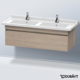Duravit DuraStyle Waschtischunterschrank mit 1 Auszug für Doppelwaschtisch Front pine silver / Korpus pine silver