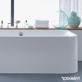 Duravit Happy D.2 Eck-Badewanne mit Verkleidung, Eckeinbau links