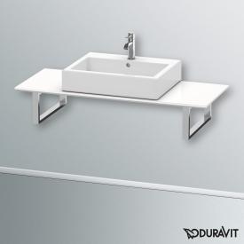 Duravit Happy D.2 Konsole Vorwand für 1 Aufsatz-/Einbauwaschtisch weiß hochglanz