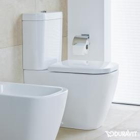 Duravit Happy D.2 Stand-Tiefspül-WC für Kombination weiß, mit WonderGliss
