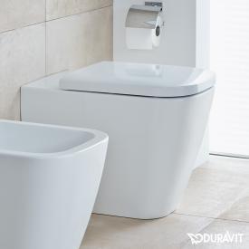 Duravit Happy D.2 Stand-Tiefspül-WC weiß, mit WonderGliss