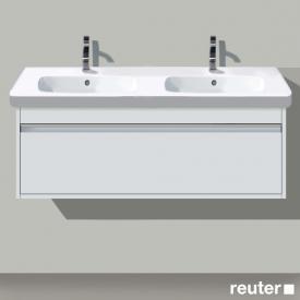 Duravit Ketho Waschtischunterschrank für Doppelwaschtisch mit 1 Auszug Front weiß matt / Korpus weiß matt