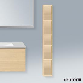 Duravit L-Cube Regalelement, vertikal mediterrane eiche