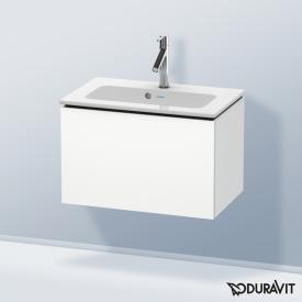 Duravit L-Cube Waschtischunterschrank Compact mit 1 Auszug Front weiß matt / Korpus weiß matt, ohne Einrichtungssystem