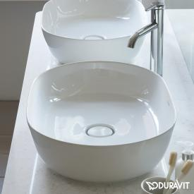 Duravit Luv Aufsatzwaschtisch weiß, mit WonderGliss