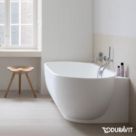 Duravit Luv Raumspar-Badewanne mit Verkleidung ohne Wannenrandbohrung