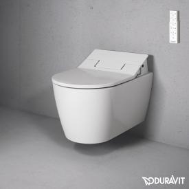 Duravit ME by Starck Wand-Tiefspül-WC für SensoWash® weiß mit WonderGliss