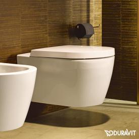 Duravit ME by Starck Wand-Tiefspül-WC, rimless weiß, mit WonderGliss