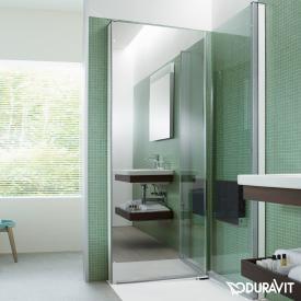 Duravit OpenSpace B Duschabtrennung Klarglas und Spiegelglas / chrom