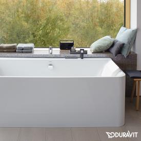 Duravit P3 Comforts Eck Badewanne Mit Verkleidung, Eckeinbau Links