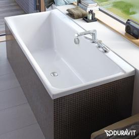 Duravit P3 Comforts Rechteck-Badewanne mit Rückenschräge links