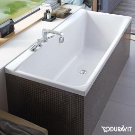 Duravit P3 Comforts Rechteck-Badewanne mit Rückenschräge rechts