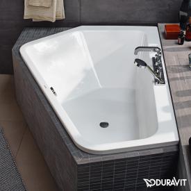Duravit Paiova 5 Eck-Badewanne, Einbauversion Eckeinbau links