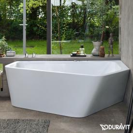 Duravit Paiova 5 Raumspar-Badewanne mit Verkleidung