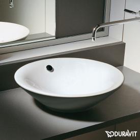 Duravit Starck 1 Aufsatzbecken weiß, ohne  Hahnloch, mit Überlauf