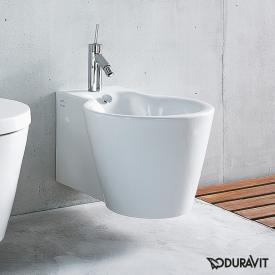Duravit Starck 1 Wand-Bidet weiß, mit WonderGliss