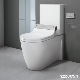 Duravit Starck 2 Stand-Tiefspül-WC Kombination für SensoWash® weiß WonderGliss