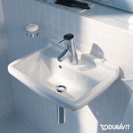 Duravit Starck 3 Handwaschbecken weiß, mit 1 Hahnloch, mit Überlauf