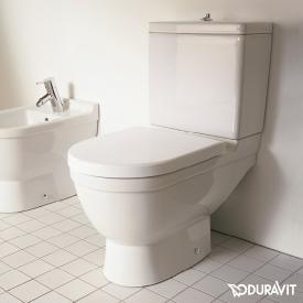 Duravit Starck 3 Stand-Tiefspül-WC für Kombination, Abgang senkrecht weiß, mit WonderGliss