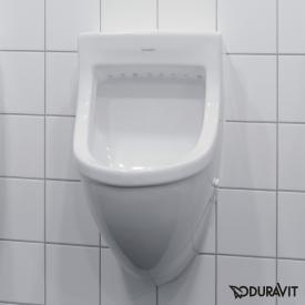 Duravit Starck 3 Urinal, Zulauf von hinten weiß mit WonderGliss