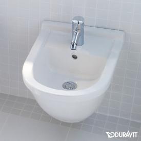 Duravit Starck 3 Wand-Bidet Compact weiß