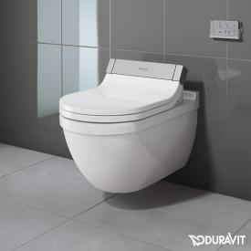 Duravit Starck 3 Wand-Tiefspül-WC für SensoWash®, verlängerte Ausführung weiß