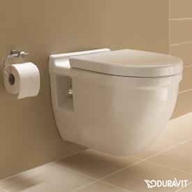 Duravit Starck 3 Wand-Tiefspül-WC Set, mit WC-Sitz weiß